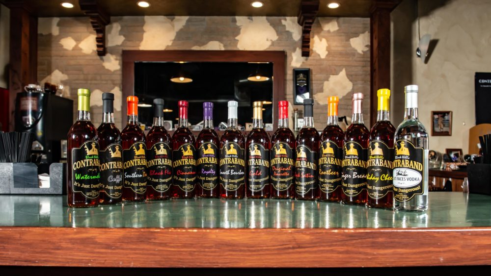 Types of Black Hills Contraband Spirits