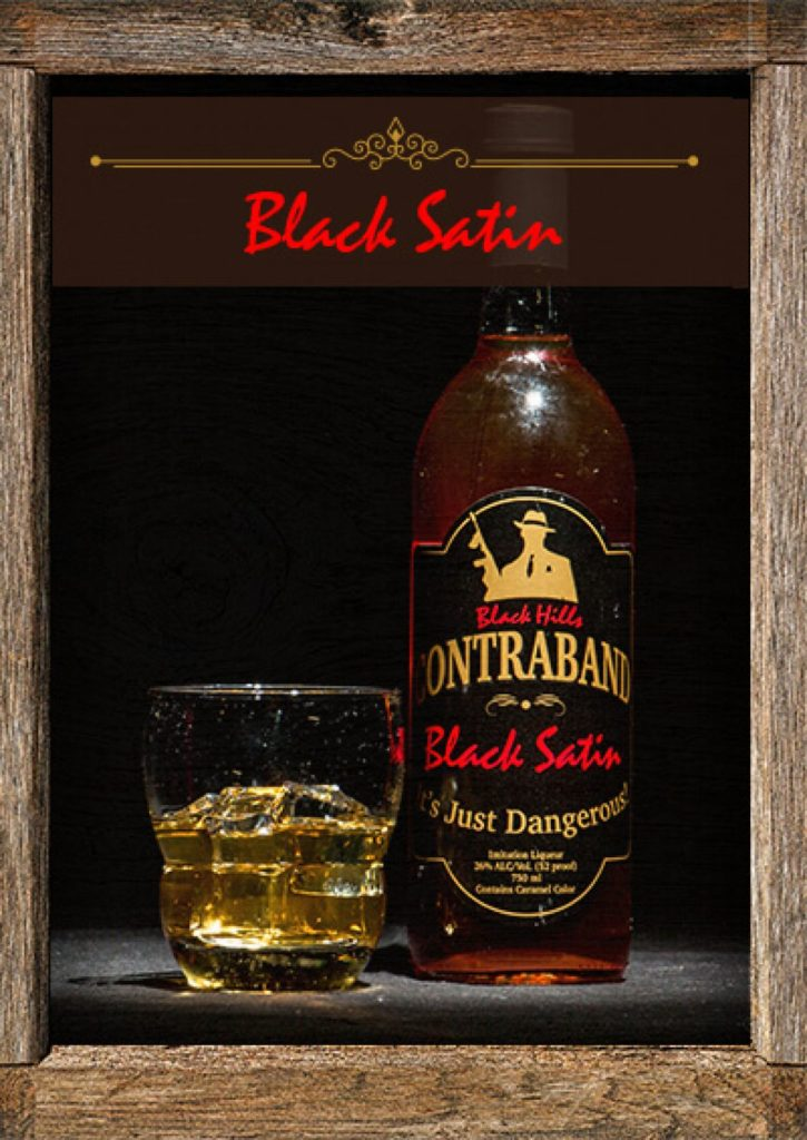 Black Hills Contraband Black Satin