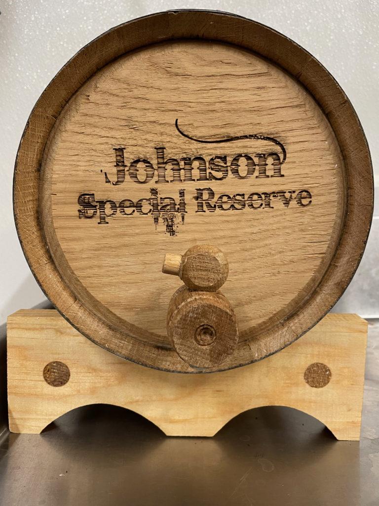 Custom Barrel Club with custom engraving